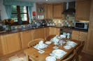 Stable Holiday Cottage Kitchen and Dining Area