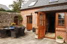 Stable Holiday Cottage Patio